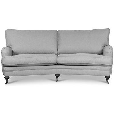 Howard London Premium 4-sits svängd soffa - Valfri färg