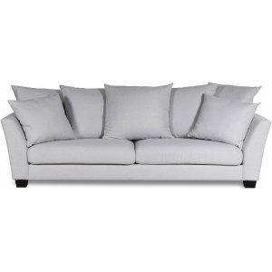 Arild 3-sits soffa med kuvertkuddar - Offwhite linne
