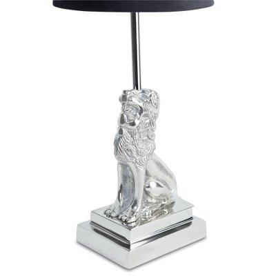 Lejon Lampfot H32 cm - Silver