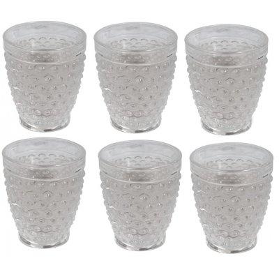 Bubbel drinkglas (klarglas) 300ml - 6-pack