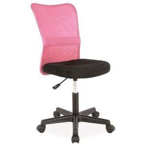 Skrivbordsstol Livermore rosa/svart