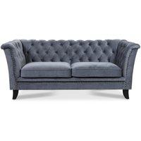 Milton Chesterfield 2-sits soffa - Valfri färg!