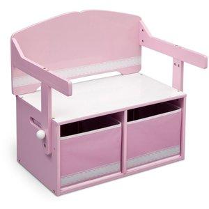 Folke bänk/skrivbord - Rosa