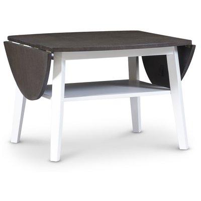 Beatrix soffbord med fällklaffar - Brunbetsad ek
