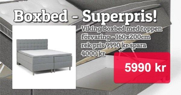 Viking Boxbed med förvaring - 5990 kr