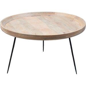 Tessa soffbord - Trä/svart