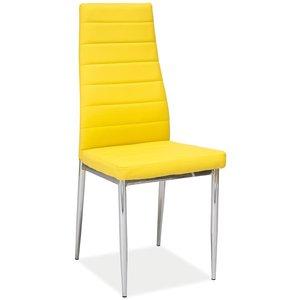 Kassidy stol - Gul/krom