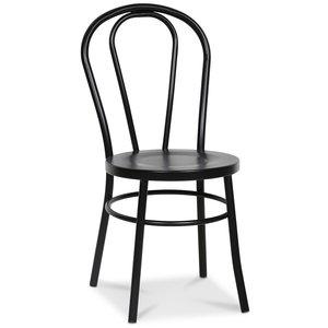 Stol No18 - Svart