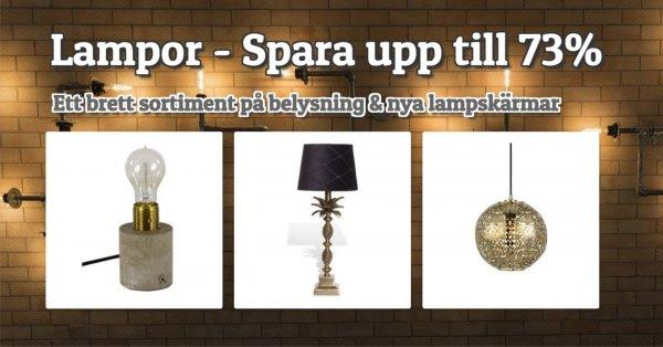 Lampor - Spara upp till 73%