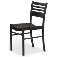 Berry stol - Svartbets / Sadelgjord