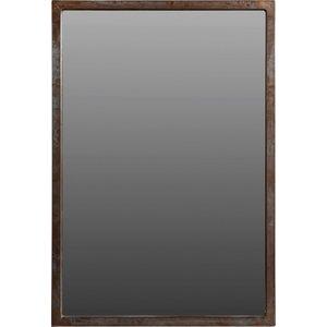 Mönsterås spegel - Rustik metall