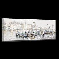 Canvastavla Venice Harbour