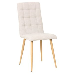 Jaqueline stol - Beige/ek