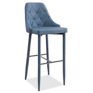 Adyson barstol - Denimblå