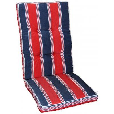Excellent dyna till positionsstol och hammock - Röd/blå