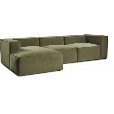 Madison 3-sits soffa med divan - Valfri färg!