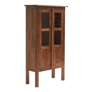 Clara vitrinskåp - 2 dörrar