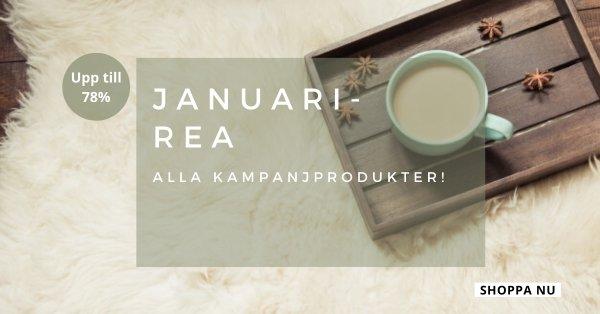 Januarirea - Alla kampanjprodukter - Upp till 78%