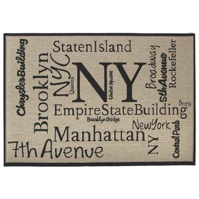 Flatvävd / slätvävd matta - New York