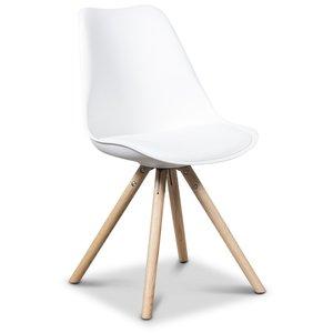 Twist stol - Vit/ek