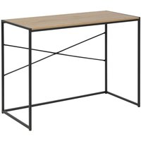 Lincoln skrivbord - Ek/svart