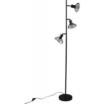 Nätthult golvlampa - Svart