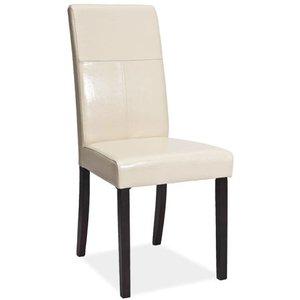 Stol Bycast - venge/cremevit
