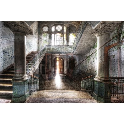 Glastavla Old hall - 120x80 cm