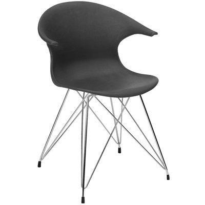James stol- Svart/krom