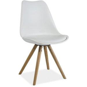 Madelynn stol - Vit