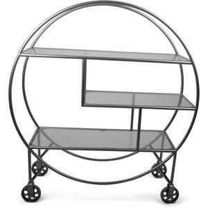 Serveringsvagn Lindgren - Silver