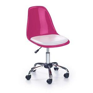 Rosalie skrivbordsstol - Vit/rosa