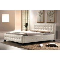 Säng Cypress färg vit