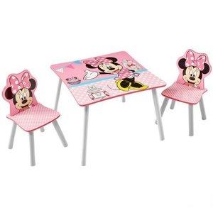 Minnie Mouse bord och stolar