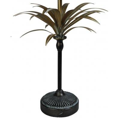 Palm bordslampa H65 - Guld vintage