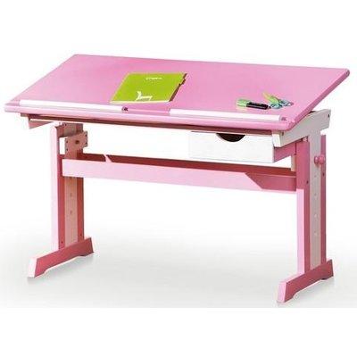 Tove skrivbord - Rosa/vit