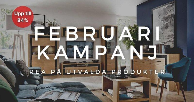 Februari kampanj - Spara upp till 84% på utvalda produkter