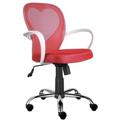 Haley kontorsstol för barn - Röd