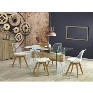 Kyra matbord 150 cm - Ek