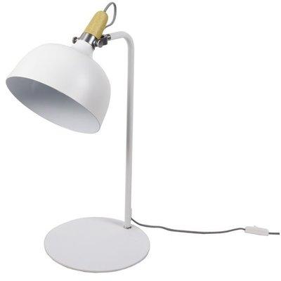 Bordslampa PIR 35 - Vit / Krom