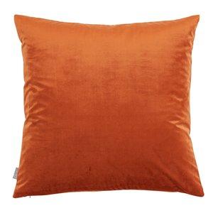 Bea kuddfodral - Rostfärgad sammet