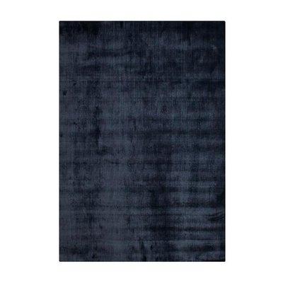 Handvävd Viskosmatta Doriano - Blå