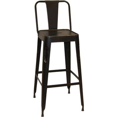 Toxil barstol - Vintage svart