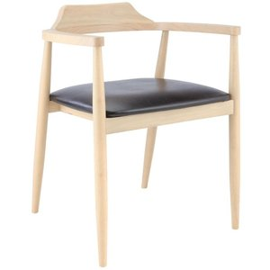 Tofta matstol - Ek/svart