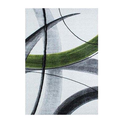 Maskinvävd matta Roxana - Grön