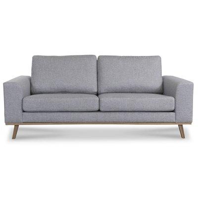Stockholm 2,5-sits soffa - Grå/Ek