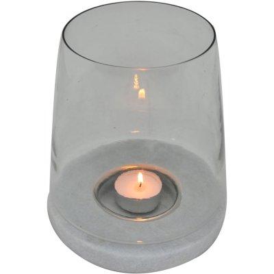 Leon lanterna - Vit marmor