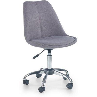 Rosalie skrivbordsstol - Grå (Tyg)