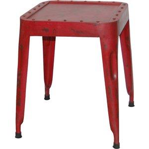 Hästholmen pall - Vintage röd