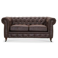 Chesterfield Cambridge 2-sits soffa - Vintage tyg